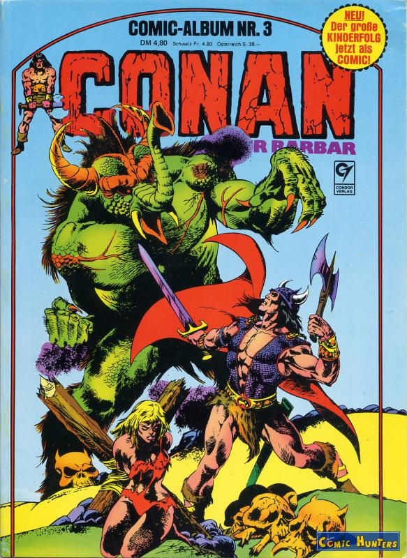 comic cover Conan der Barbar 3