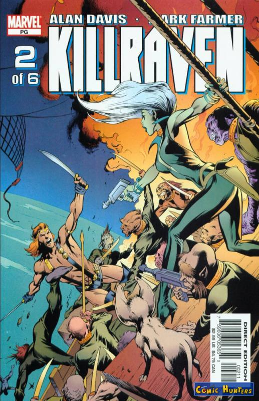 comic cover Killraven 2