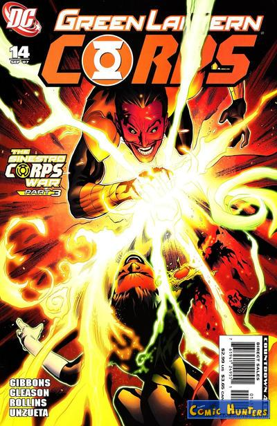 comic cover Sinestro Corps War, Chapter Two: The Gathering Storm 14