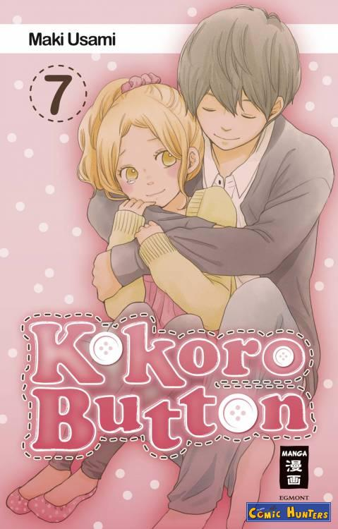 comic cover Kokoro Button 7