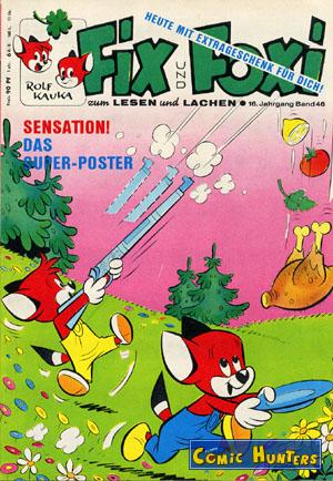 comic cover Fix und Foxi 46