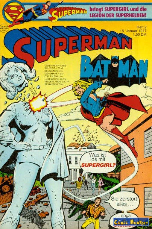 comic cover Superman/Batman 2