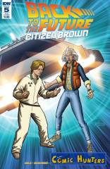 Back to the Future: Citizen Brown (Subscription Variant Cover-Edition)