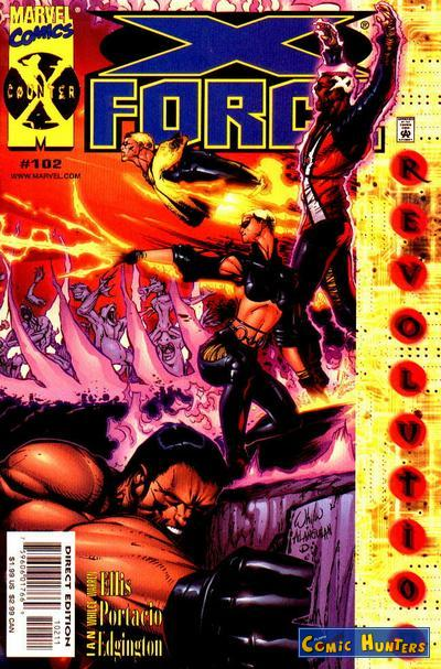 comic cover Games Without Frontiers 102