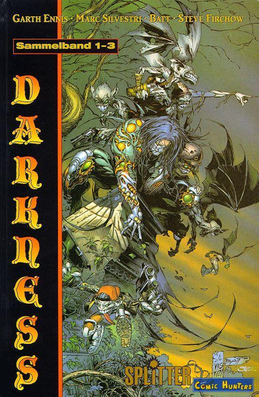 comic cover The Darkness 1-3