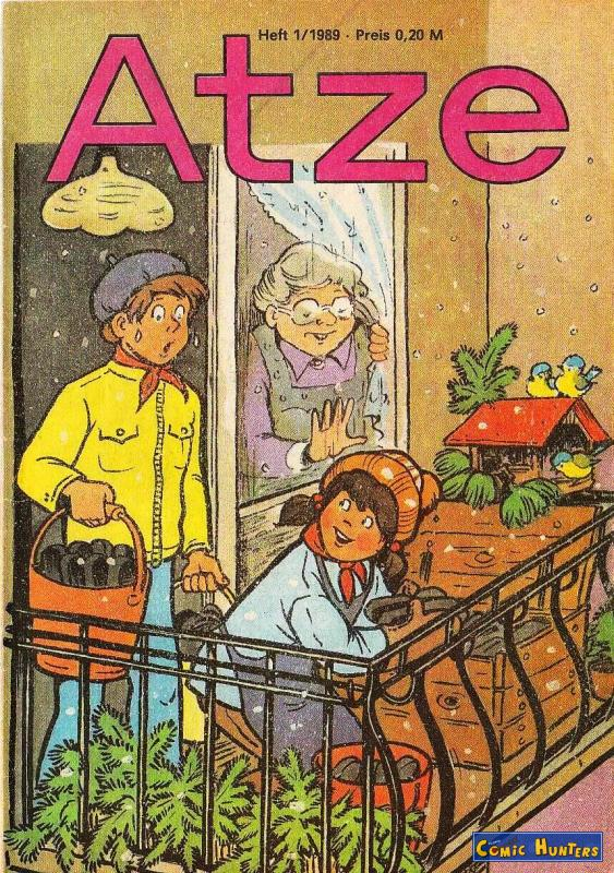 comic cover Atze 1