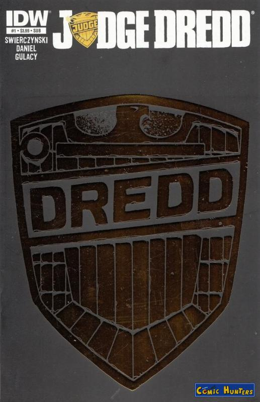comic cover Judge Dredd (Cover SUB Variant Cover-Edition) 1