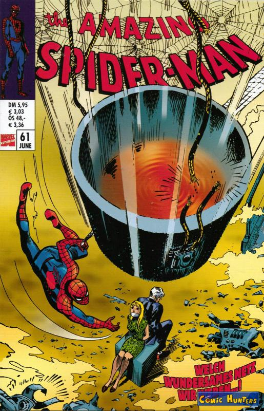 comic cover The Amazing Spider-Man 61