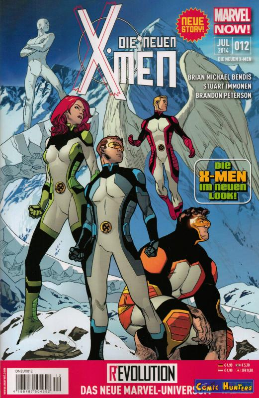 comic cover Die Neuen X-Men 12