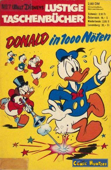 comic cover Donald in 1000 Nöten 7