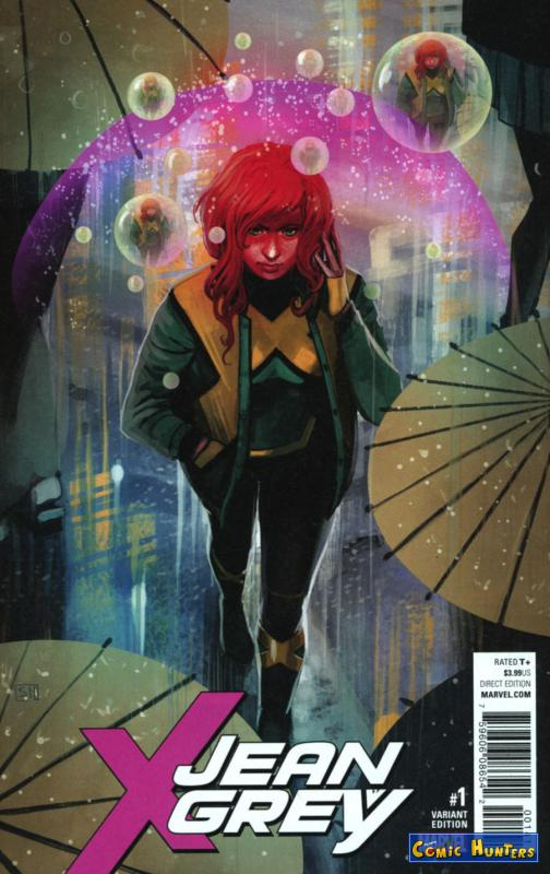 comic cover Jean Grey (Hans Variant) 1