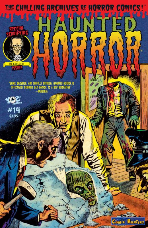 comic cover Haunted Horror 14