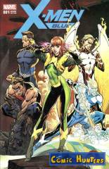 X-Men: Blue (J. Scott Campbell Variant A Cover)