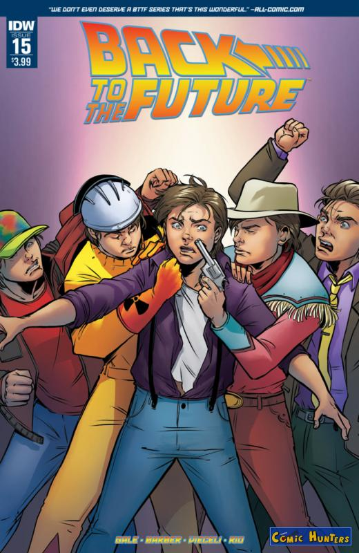 comic cover Who is... Marty McFly?! 15