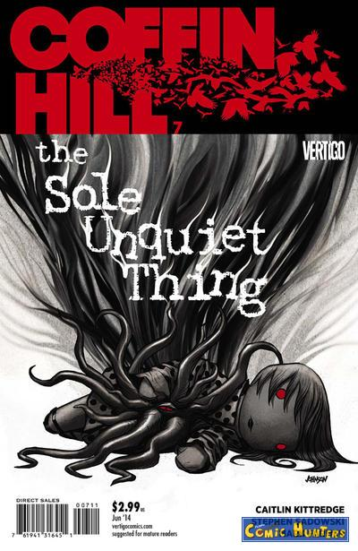 comic cover The Sole Unquiet Thing 7