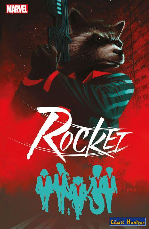 comic cover Rocket: Der Coup (Variant Cover-Edtion)