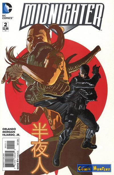 comic cover Midnighter 2
