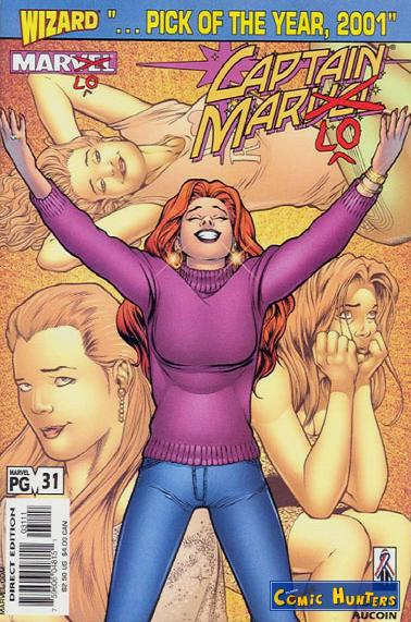 comic cover Captain Marvel 31