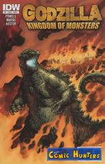 Godzilla: Kingdom of Monsters (Cover A)