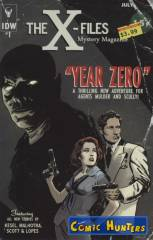 The X-Files: Year Zero (Subscription Variant Cover-Edition)