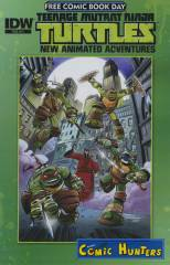 Teenage Mutant Ninja Turtles New Animated Adventures (Free Comic Book Day 2013)