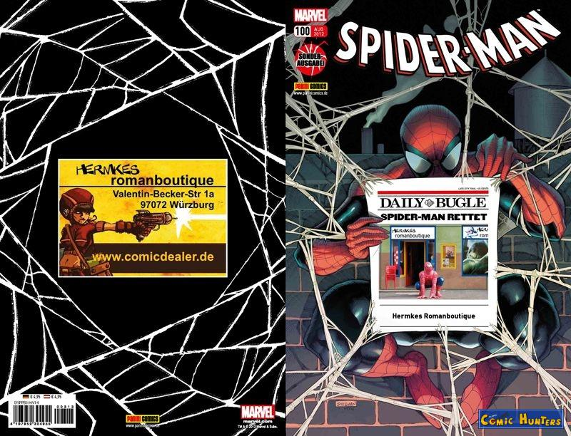 comic cover Spider-Man (Hermkes Romanboutique - Würzburg Variant Cover-Edition) 100