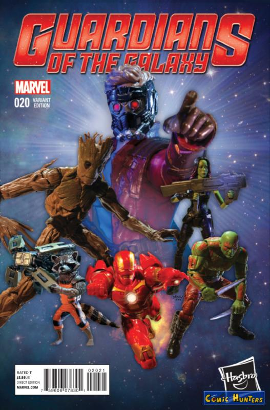 comic cover Guardians of the Galaxy (Hasbro Variant) 20